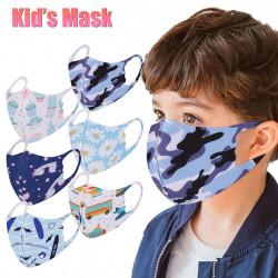 6 masques enfant réutilisables