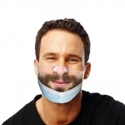 Masque original et drôle